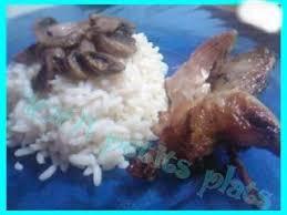 comment cuisiner les cailles au four caille au four et riz au chignons recette ptitchef