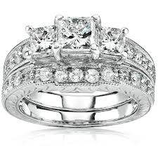 ring sets wedding ring sets diamond bridal jewelry bridal sets jewelry