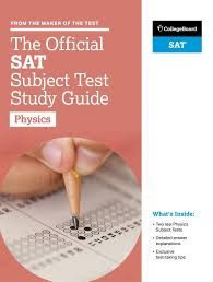 buy the official sat subject test in physics study guide book