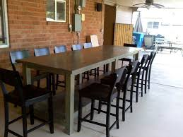 Patio Bar Height Tables Bar Height Community Table Search Cafe Pinterest
