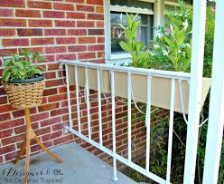 reclaimed wood porch lattice and planter box designertrapped com