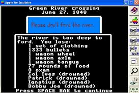 Oregon Trail Meme - never ford the river lessons about money and life from the oregon