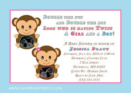 monkey invitations baby shower favors on the fly favors on the fly