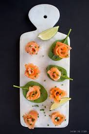 healthy canapes recipes smoked salmon flower canapés shoot the cook food photography