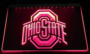 ohio state neon light best ls2442 r ohio state led neon light sign decor dropshipping
