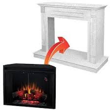 Fireplace Electric Heater The Best Electric Fireplace Inserts Reviewed U0026 Compared
