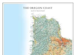 Raven Maps Oregon Coast Map Oregon Shores