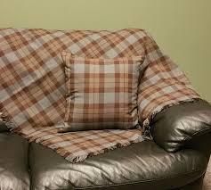 Brown Tartan Rug Outlander Tartan Blankets