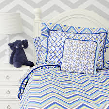 bedroom navy blue chevron bedding slate pillows lamp sets the