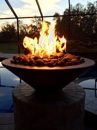 custom l shape fire pit chris jensen landscaping in salt lake utah