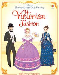 victorian fashion sticker paper doll victorian sticker dress up