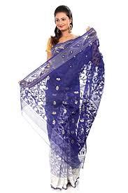 dhakai jamdani saree buy online b3fashion indian handloom dhakai jamdani silk saree buy