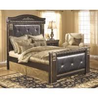 coal creek 6 pc bedroom dresser mirror queen bed b175 31 36