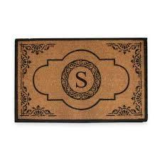 creative accents rugs monogrammed door mats mats the home depot