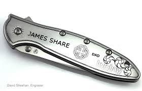 Groomsmen Gifts Knife Goomsmen Gifts David Sheehan Engraver