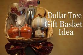 basket ideas dollartree gift basket idea fall autumn 2015