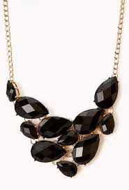 bib necklace black images Forever 21 glam bib necklace where to buy how to wear jpg
