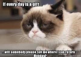 Grumpy Cat Monday Meme - pin grumpy cat monday2 on pinterest