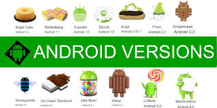 android history grooming your world android version history