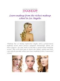 How To Be A Professional Makeup Artist How To Apply Makeup For Beginners Pdf Mugeek Vidalondon