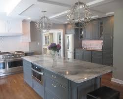 Gray Kitchen Island Slate Gray Contemporary Kitchen Island Design With White Fantasy