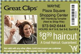 haircut specials at great clips 8 99 printable coupon for a haircut at great clips in wayne nj