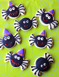 Decorated Halloween Sugar Cookies by Munchkin Munchies October 2011