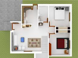 modern contemporary virtual home design with simple livingroom