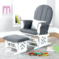 Rocking Chair With Ottoman For Nursery Mesmerizing Nursery Chair With Ottoman Nursery Rocking Chair