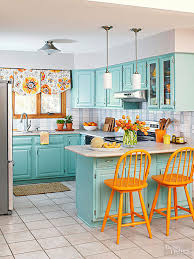 kitchen designs with oak cabinets decorating with oak cabinets better homes gardens