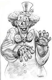 102 best clown images on pinterest evil clowns drawings and