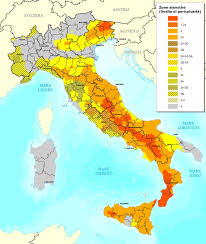 Italy Map Tuscany by Earthquakes Earthquakes In Italy Earth Tremors Italy Seismic