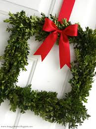 diy boxwood square wreath a homemade living