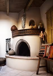 Home Interiors Mexico by Santa Fe New Mexico Kiva Fireplace Photograph By Describe The