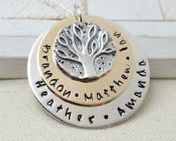 necklace for mothers personalized ancient family tree coin necklace s day gift