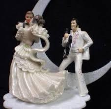 elvis cake topper elvis king las vegas wedding cake topper groom