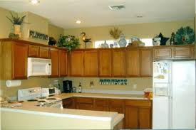 Redecorating Kitchen Ideas Decorate Kitchen Decorating Ideas For Tops Of Cabinets