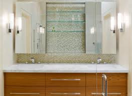 modern bathroom medicine cabinets with lights style home ideas