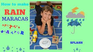 how to make rain maracas for kids i autumn craft youtube