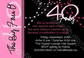 create easy 40th birthday invitations designs egreeting ecards