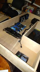 Mount Laptop Under Desk by Horizontal Gpu Mount For A Desk Case Modding And Other Mods