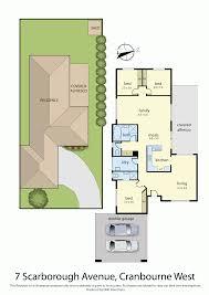 Scarborough Town Centre Floor Plan by 7 Scarborough Avenue Cranbourne West Vic 3977 Sold