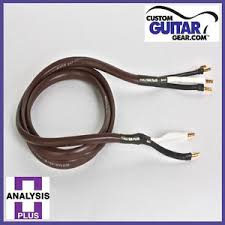 analysis plus chocolate theater 4 wire cable bi wire