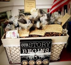 bridal shower wine basket wbw creative a basket of wine for a year of firsts