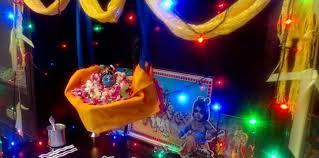 Krishnashtami Decoration Janmashtami Decoration For Home Ideas Archives Pooja Room And