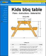 kids picnic table plans kids picnic table plans how to build a kids picnic table
