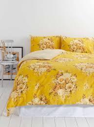 Nostalgia Home Decor Photo 2 Of Vintage Nostalgia Yellow Floral Bedding Set I Like
