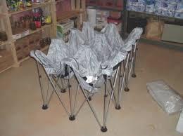 Folding Air Bed Frame Temporary Shelter Bedding
