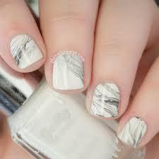 10 fun nail art ideas if you have short nails marble nail art