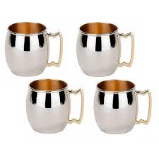 moscow mule mugs 16 oz inside out moscow mule mug set of 4 os483 the
